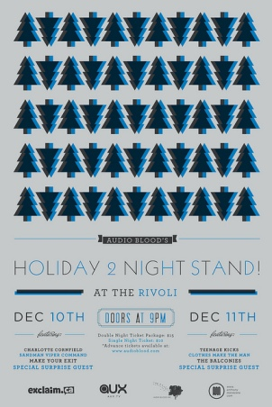 Audio Blood Holiday Two Night Stand