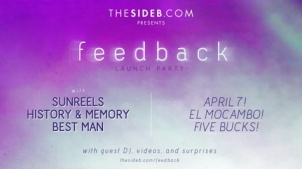 Side B feedback Launch Party