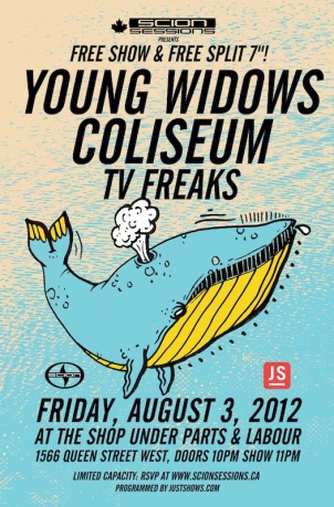 Scion Sessions: Young Widows/Coliseum/TV Freaks