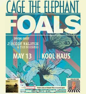 foals-cagetheelephant-poster